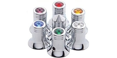 Jeweled Cb Radio Knobs: (Channel Knob - $6.95ea)