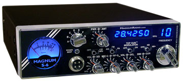 Magnum S6 10 Meter Radio  *NOT AVAILABLE*