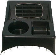 Hump Mount w/speaker, 1 Cup Holder 1 Tray PTDS78b